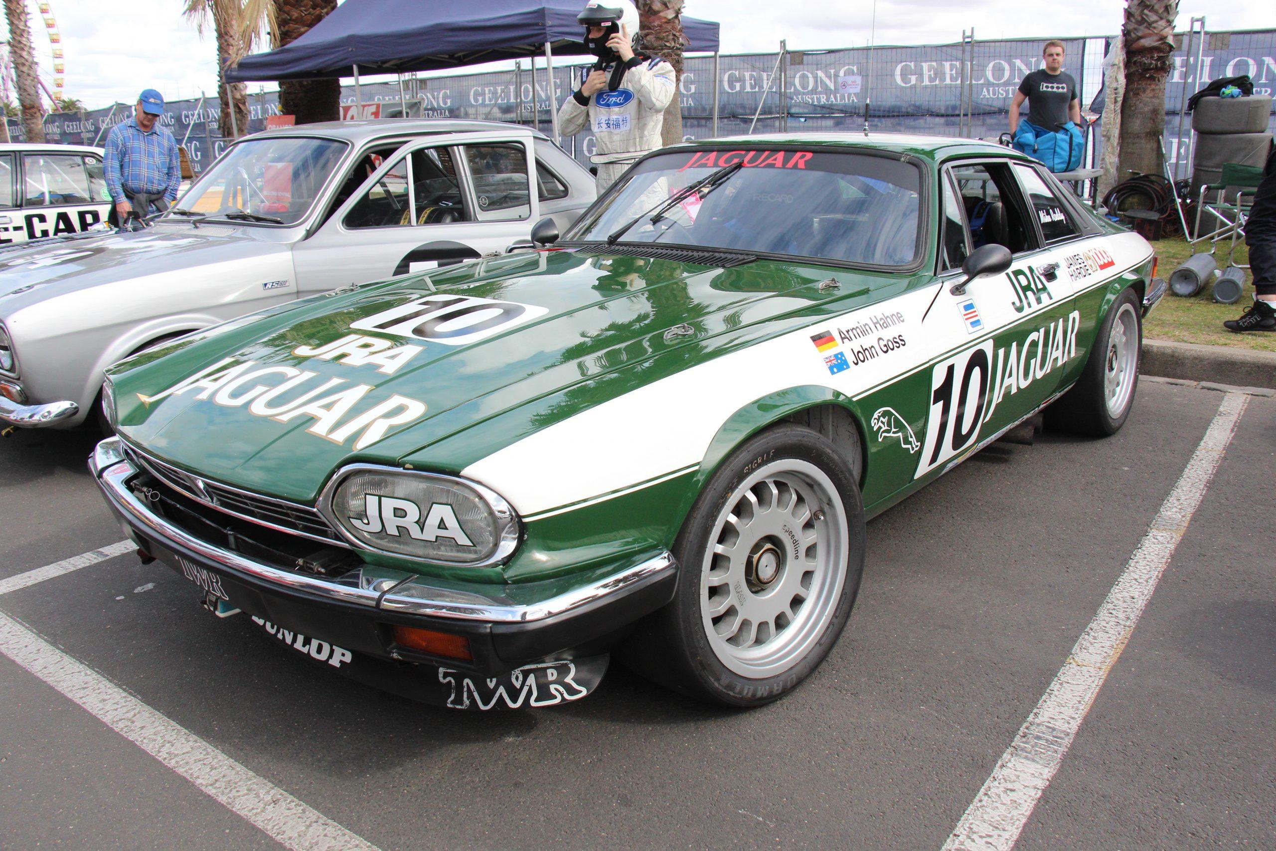 1985 jaguar xjs twr front three-quarter