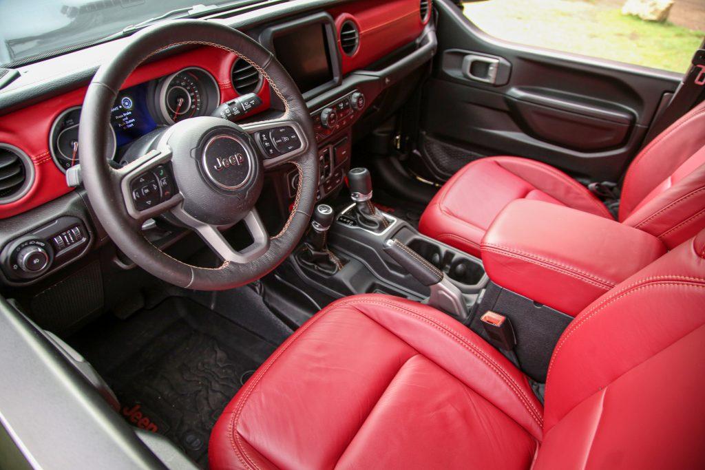 Wrangler 392 Concept Interior