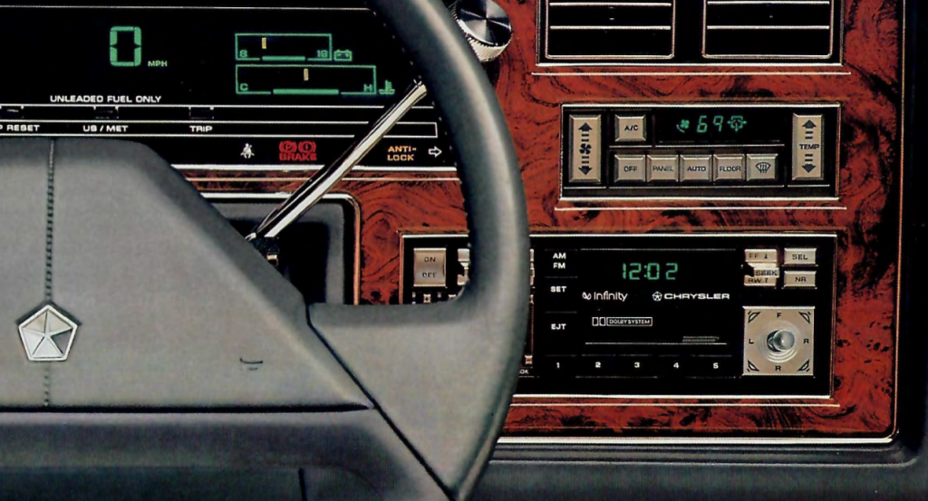 Chrysler Infinity Audio