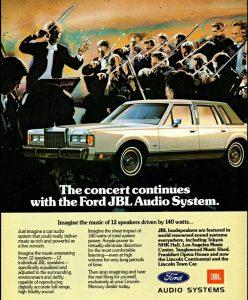Ford JBL Advertisement