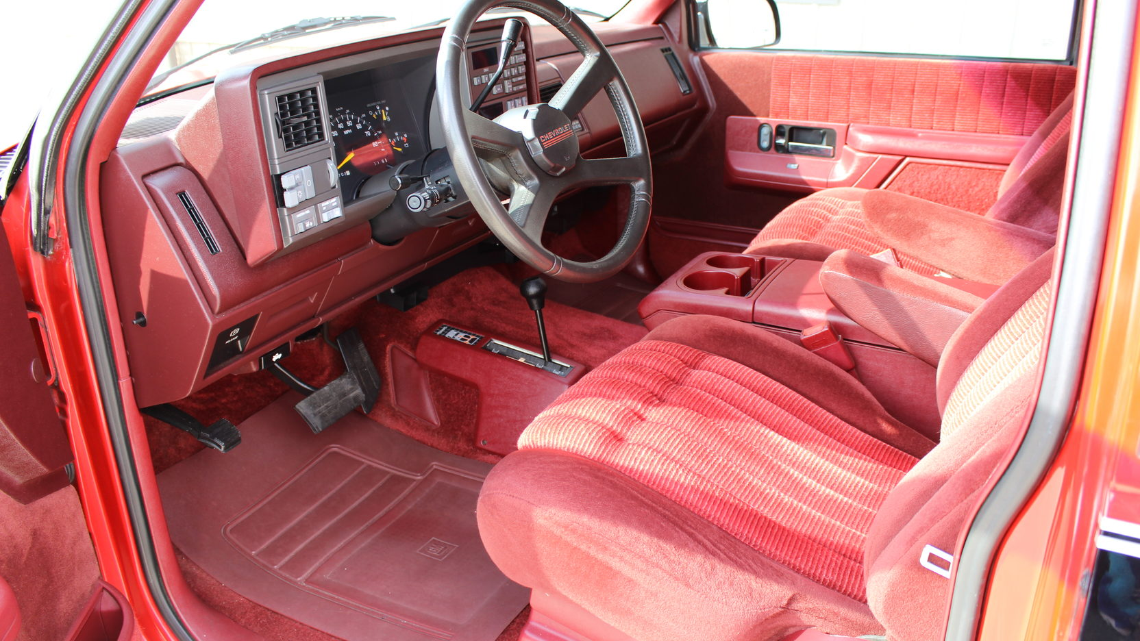 1992 Chevrolet Blazer interior