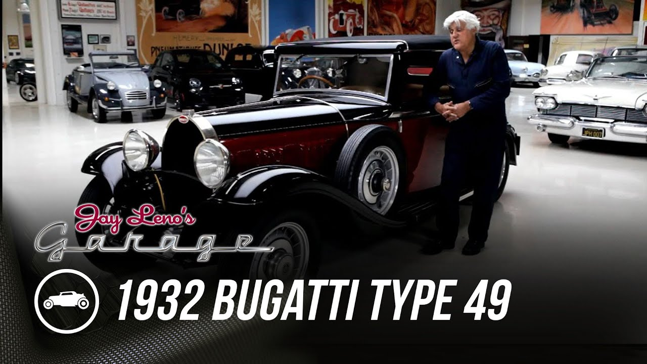 Think Pebble Beach winners are garage queens? Leno's '32 Bugatti will prove you wrong