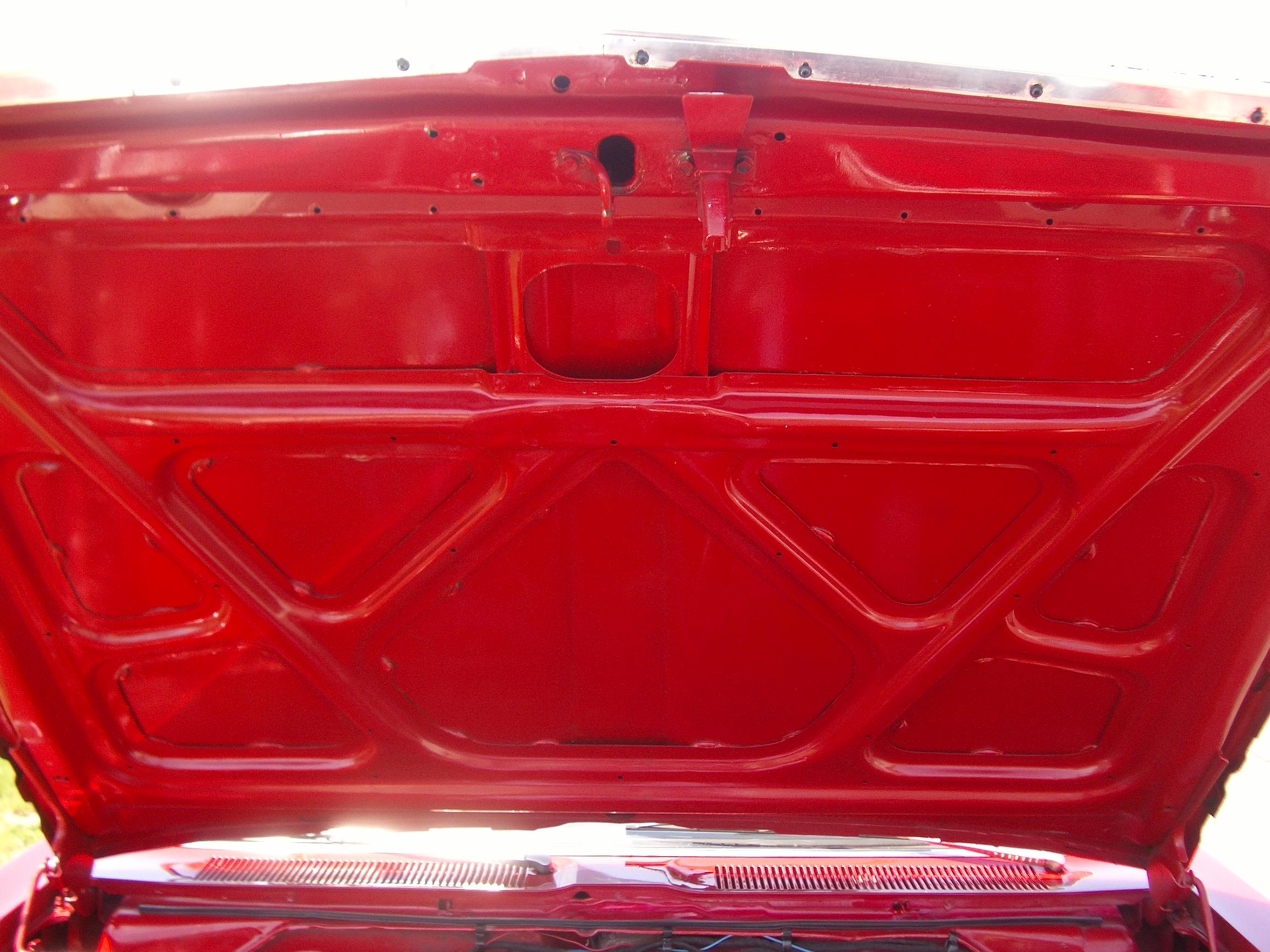 1968 Plymouth Fury convertible hood