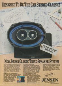 Jensen vintage audio