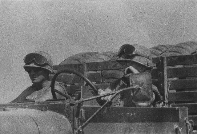 American truck drivers vietnam