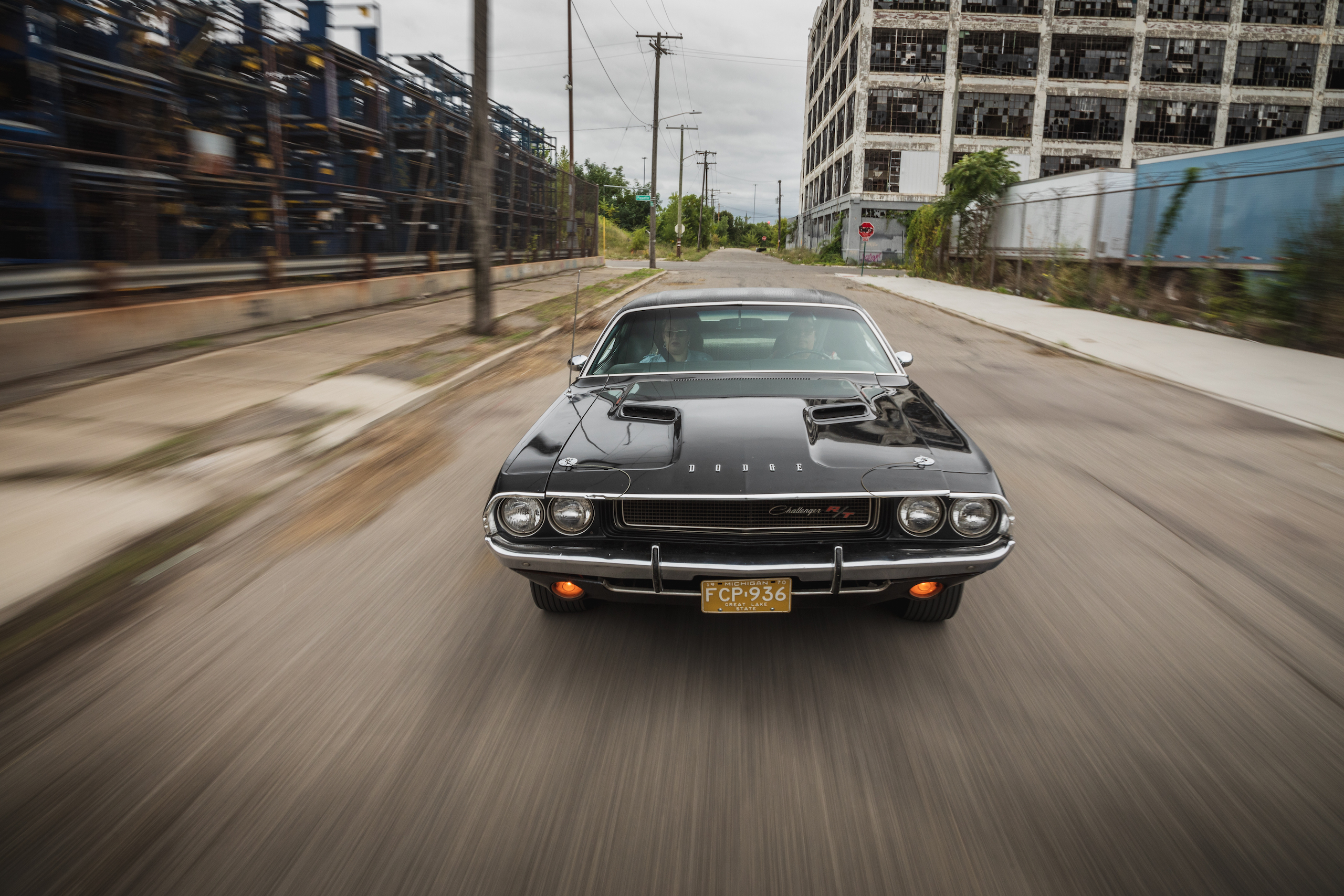 1970 Challenger front elevated dynamic action