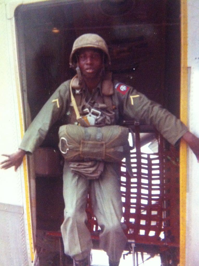 detroit soldier godfrey qualls in uniform