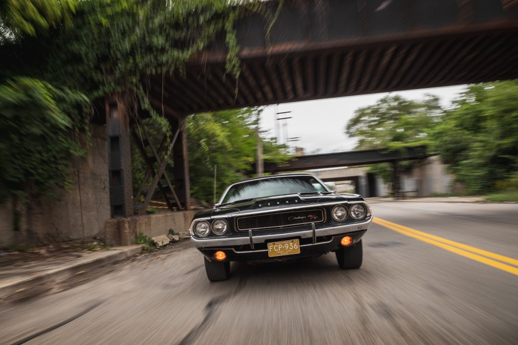 1970 Challenger front dynamic action