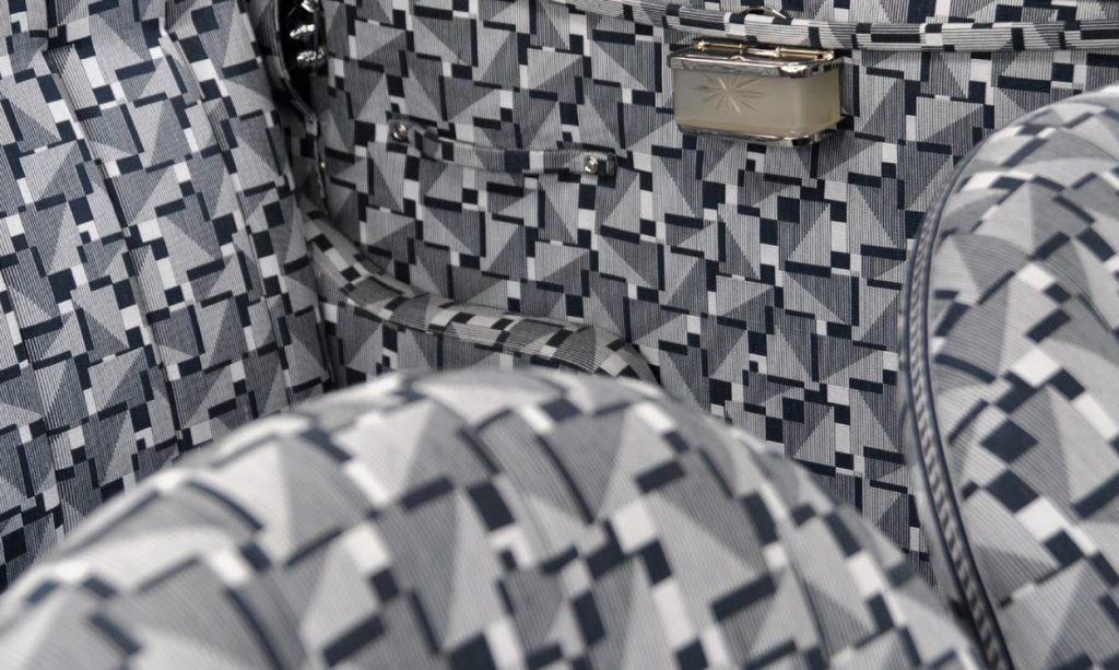 1935 Voisin Aerodyne - interior upholstery pattern