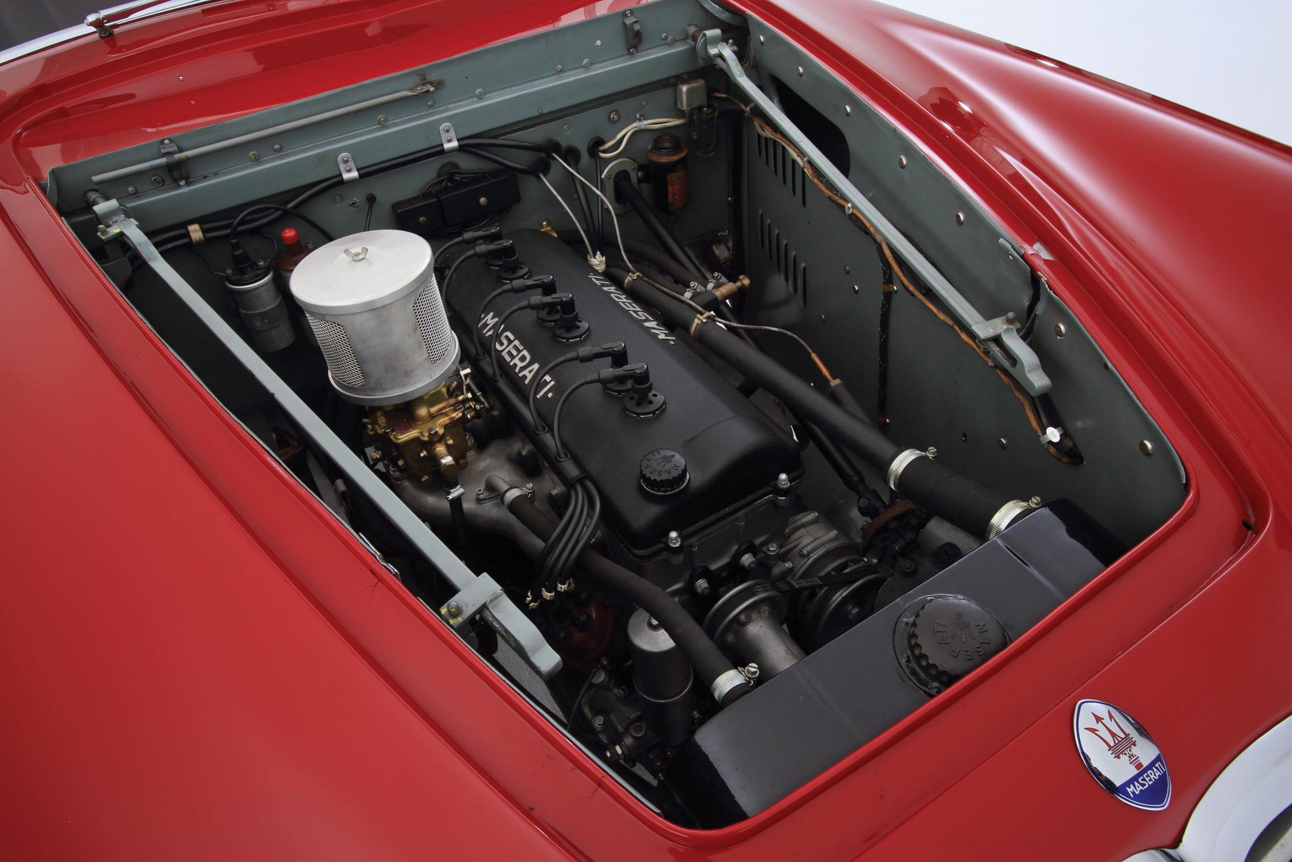 1950 Maserati A6G engine