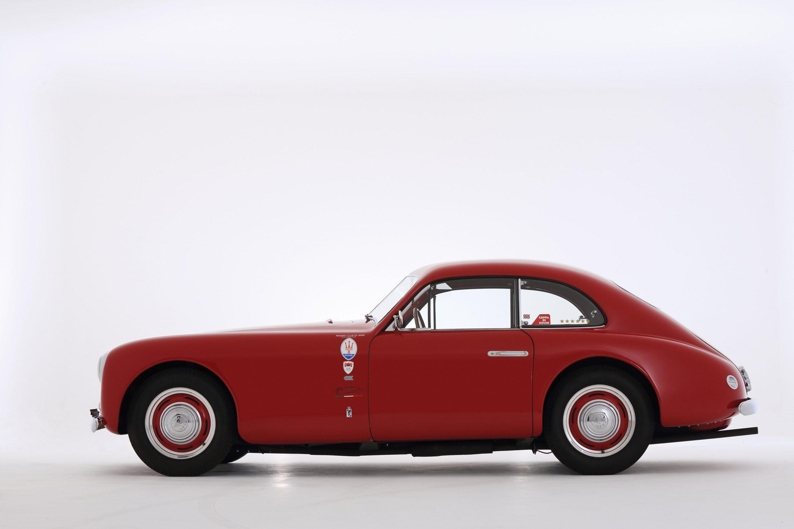1950 Maserati A6G side profile