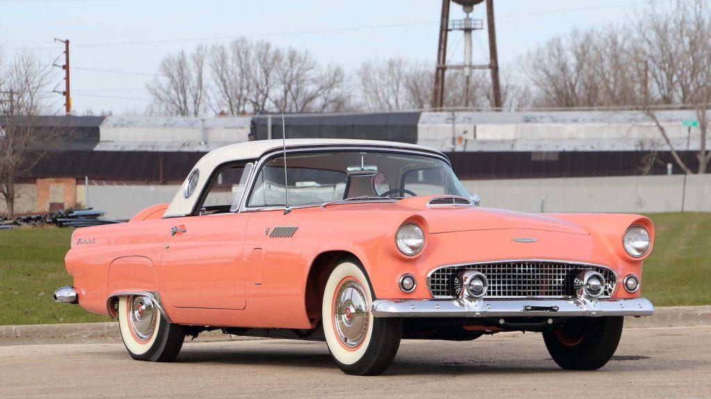 1956 Ford Thunderbird front three-quarter