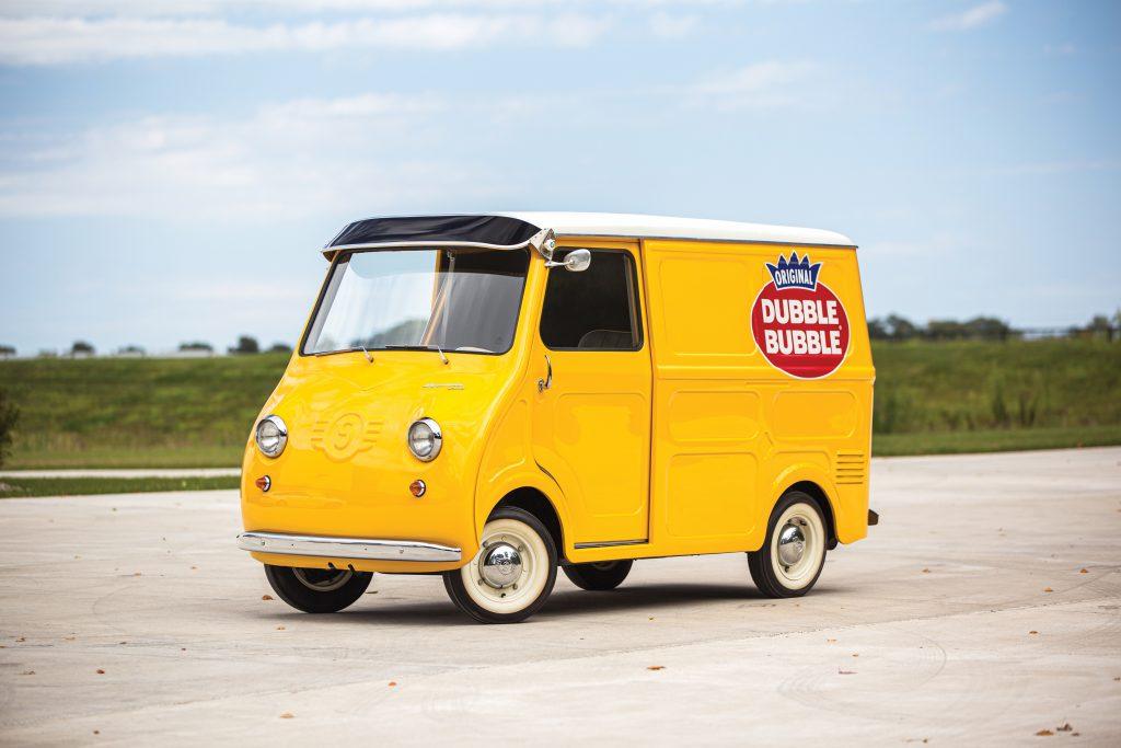 1958 Goggomobil dubble bubble gum van