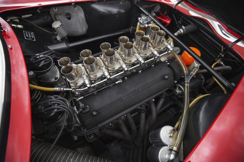 1962 Ferrari 250 GTO v12 engine