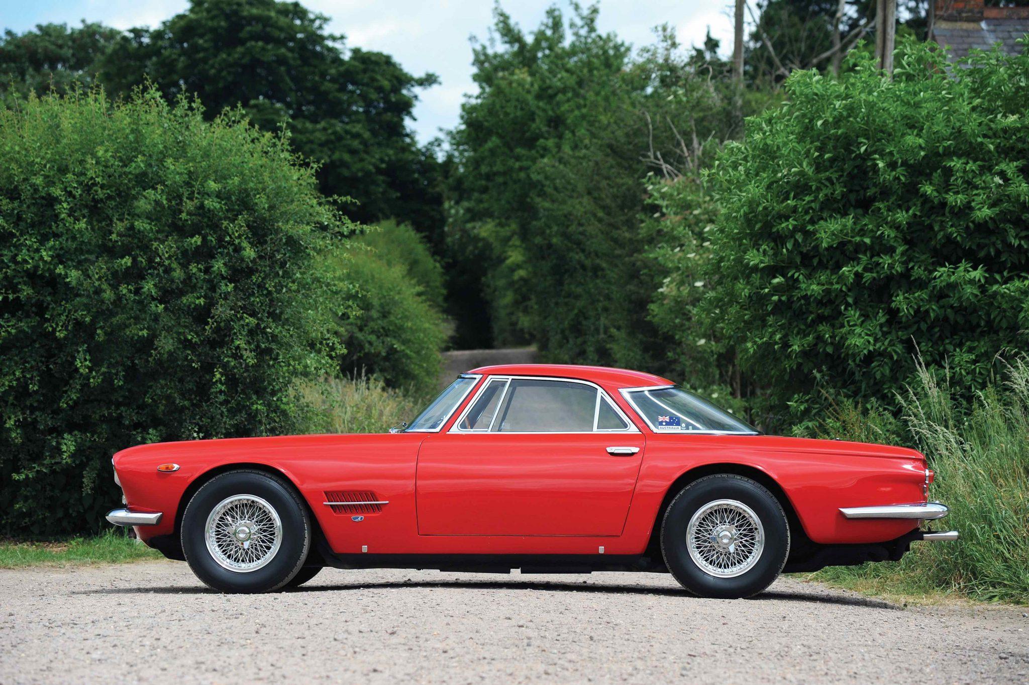 1959 Maserati 5000 GT side profile