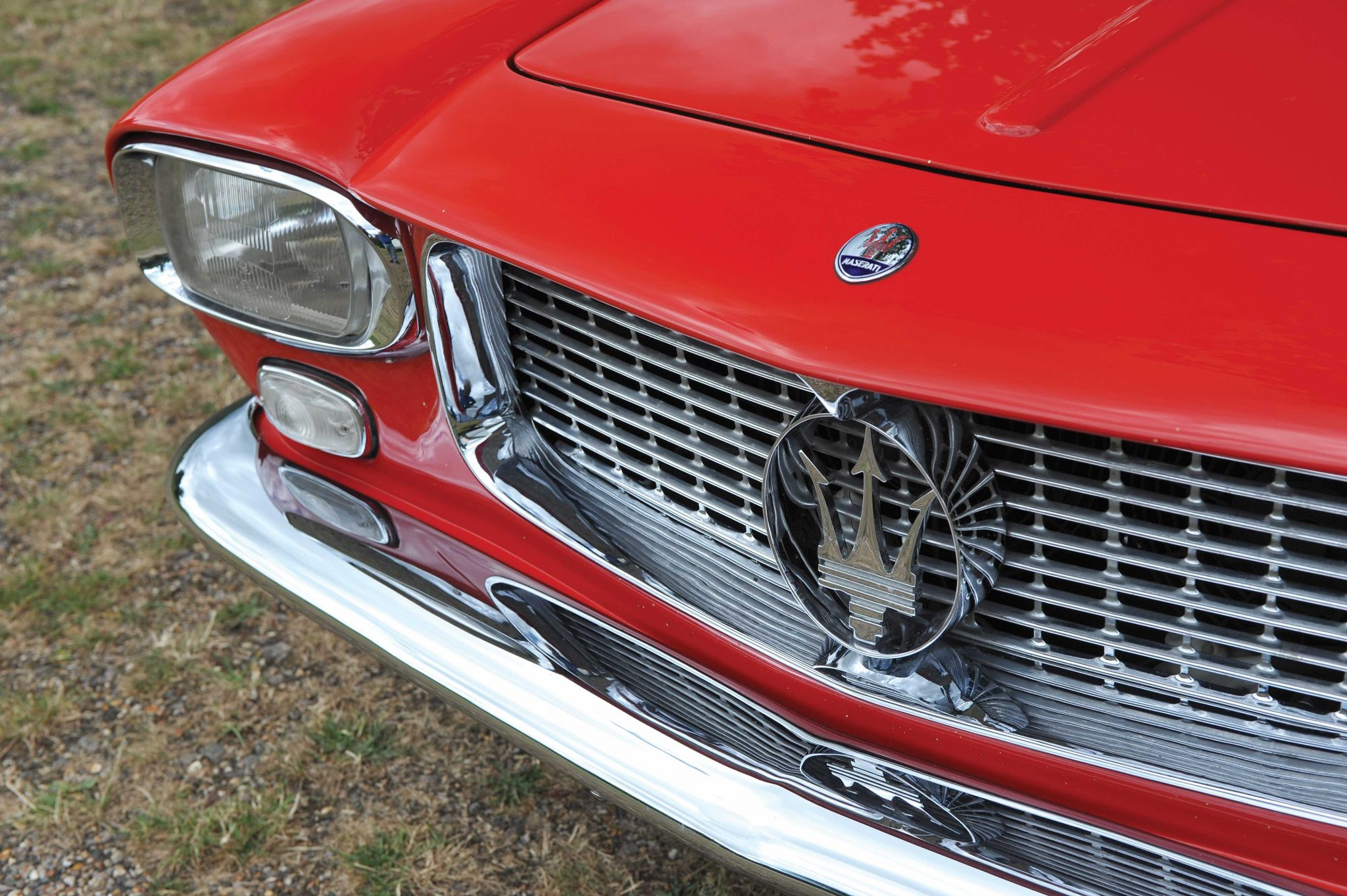 1959 Maserati 5000 GT front grille