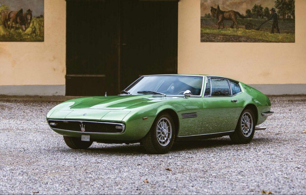 Maserati-Ghibli front three-quarter