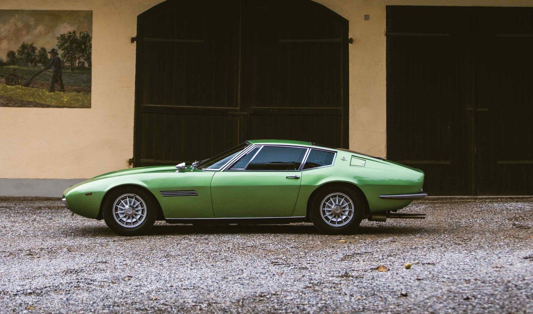 Maserati-Ghibli side profile