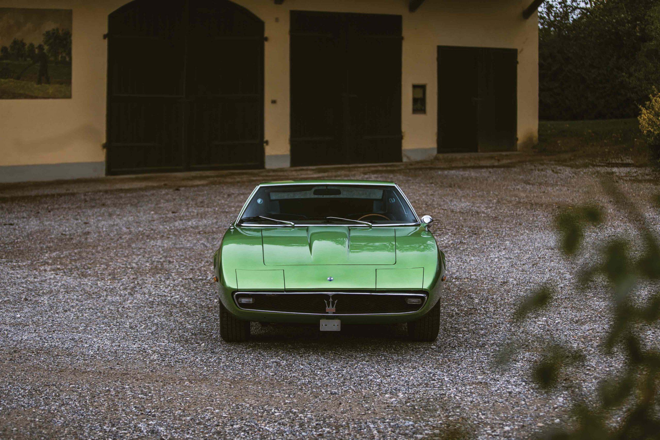 Maserati-Ghibli front