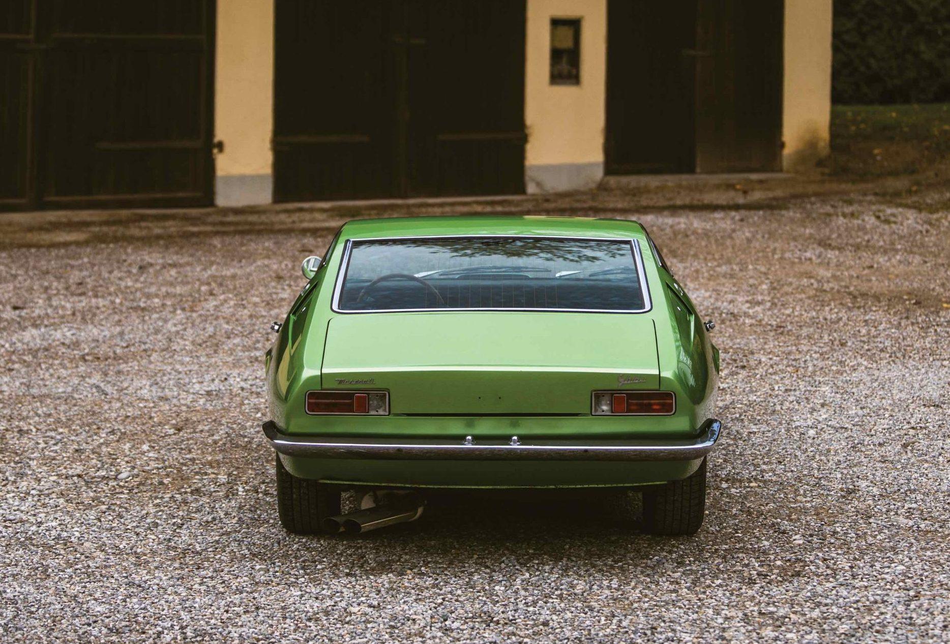 Maserati-Ghibli rear