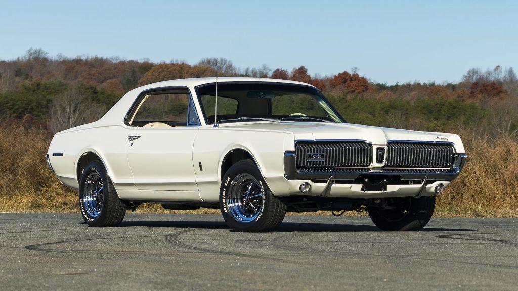 1967 Mercury Cougar Front Three-Quarter