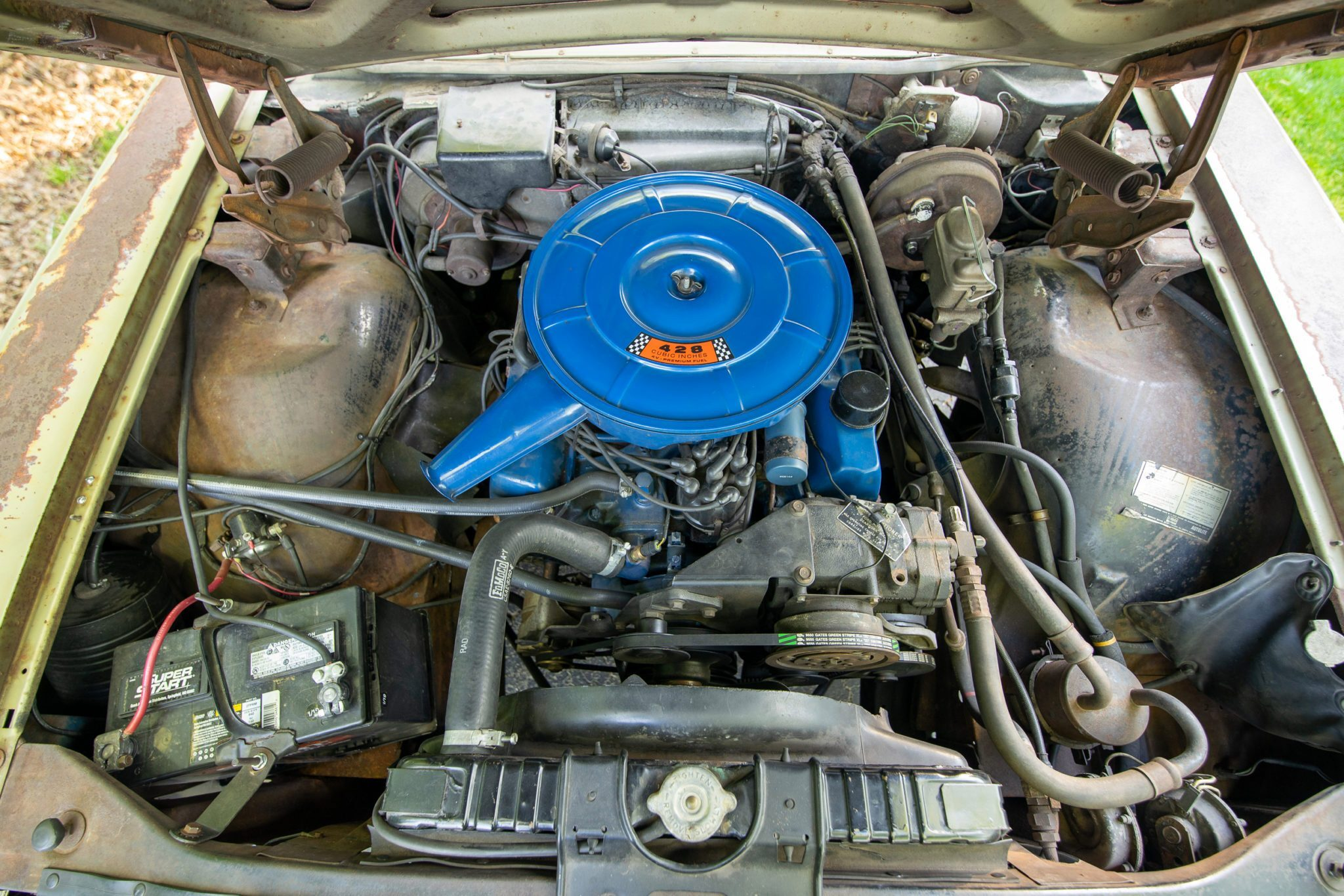 1967 Ford Country Squire Tom Cotter engine
