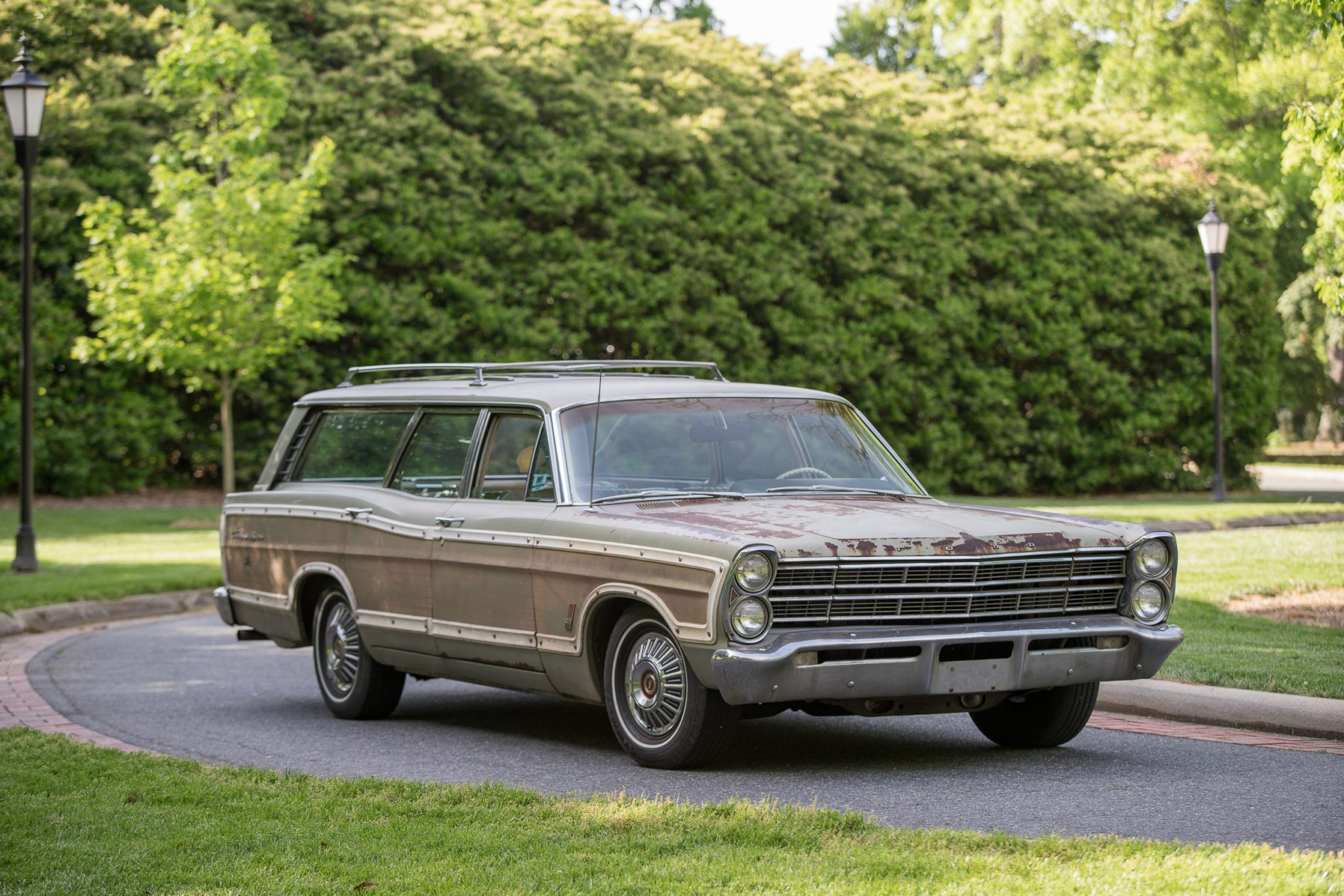 1967 Ford Country Squire Tom Cotter woodie wagon