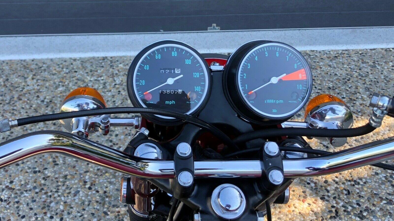 1969 Honda CB750 Sandcast K0 gauges