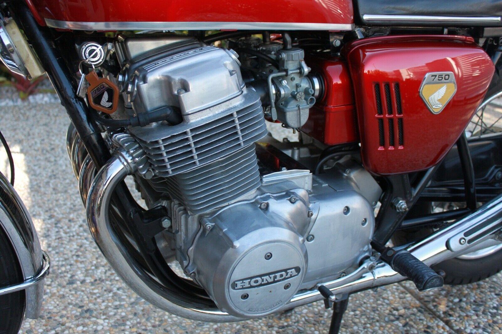 1969 Honda CB750 Sandcast K0 engine