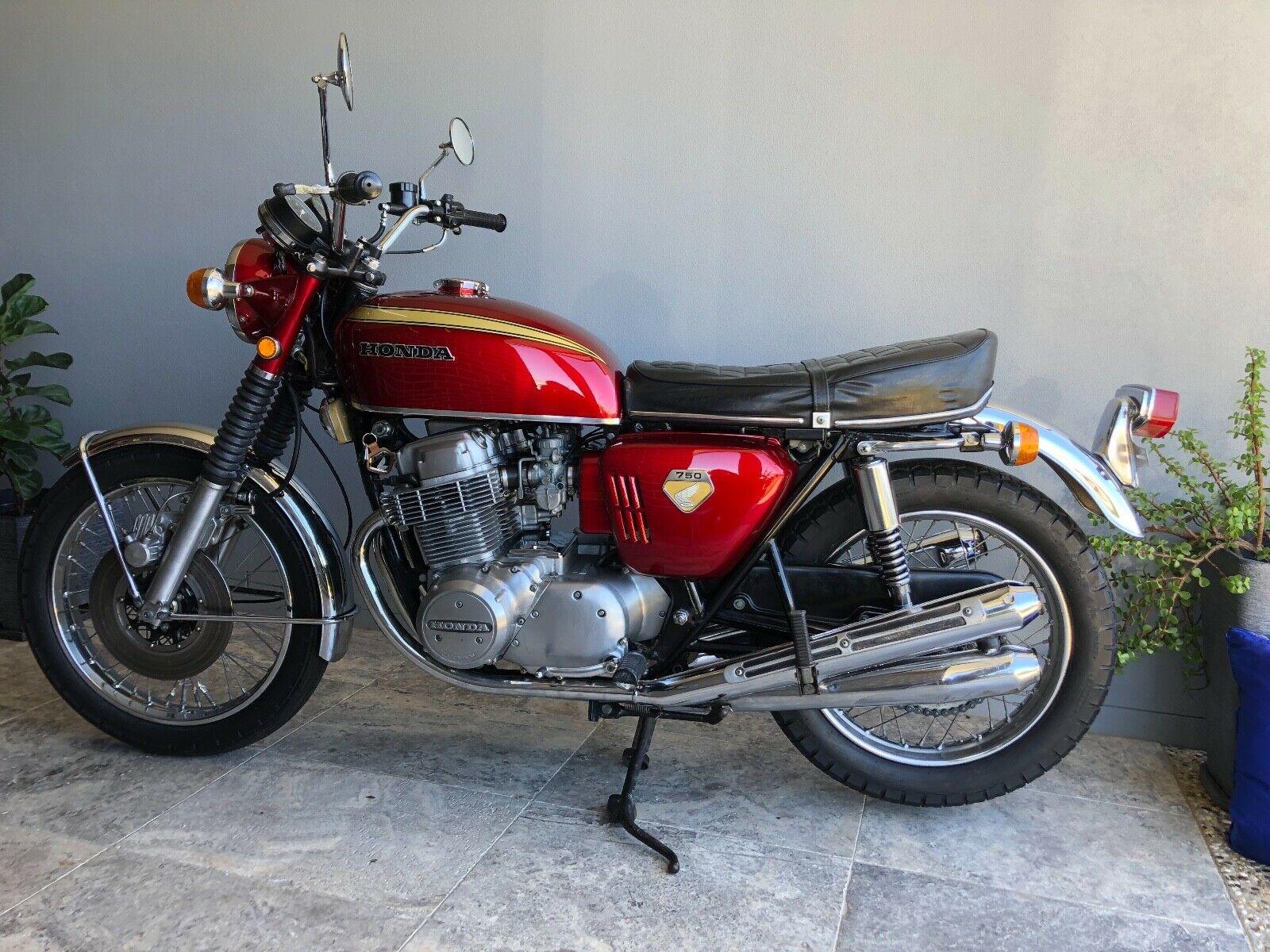 1969 Honda CB750 Sandcast K0 side profile
