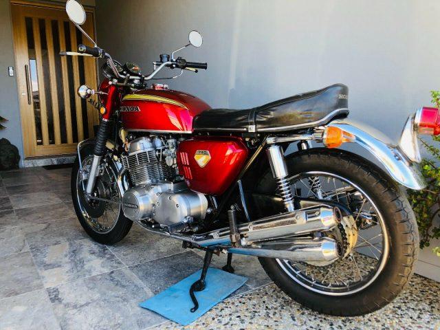 1969 Honda CB750 Sandcast K0 rear three-quarter