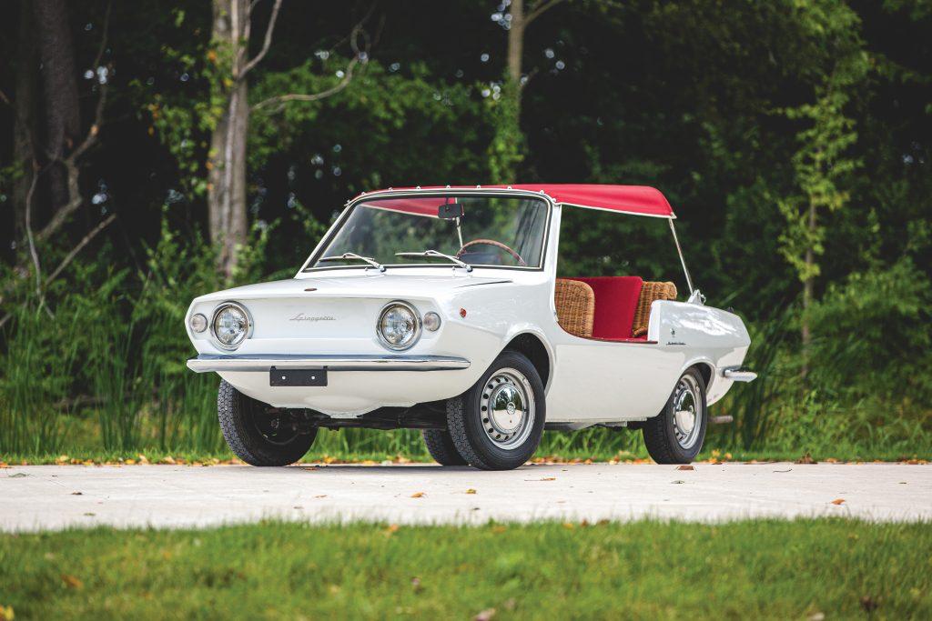1970 Fiat 850 Spiaggetta front three-quarter