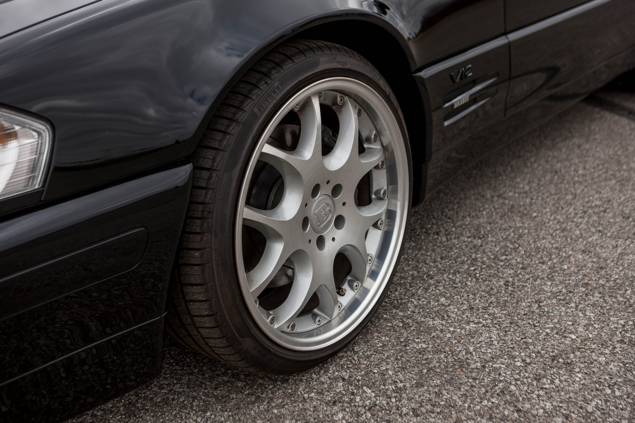 1999 Mercedes-Benz Brabus 7.3 S wheel