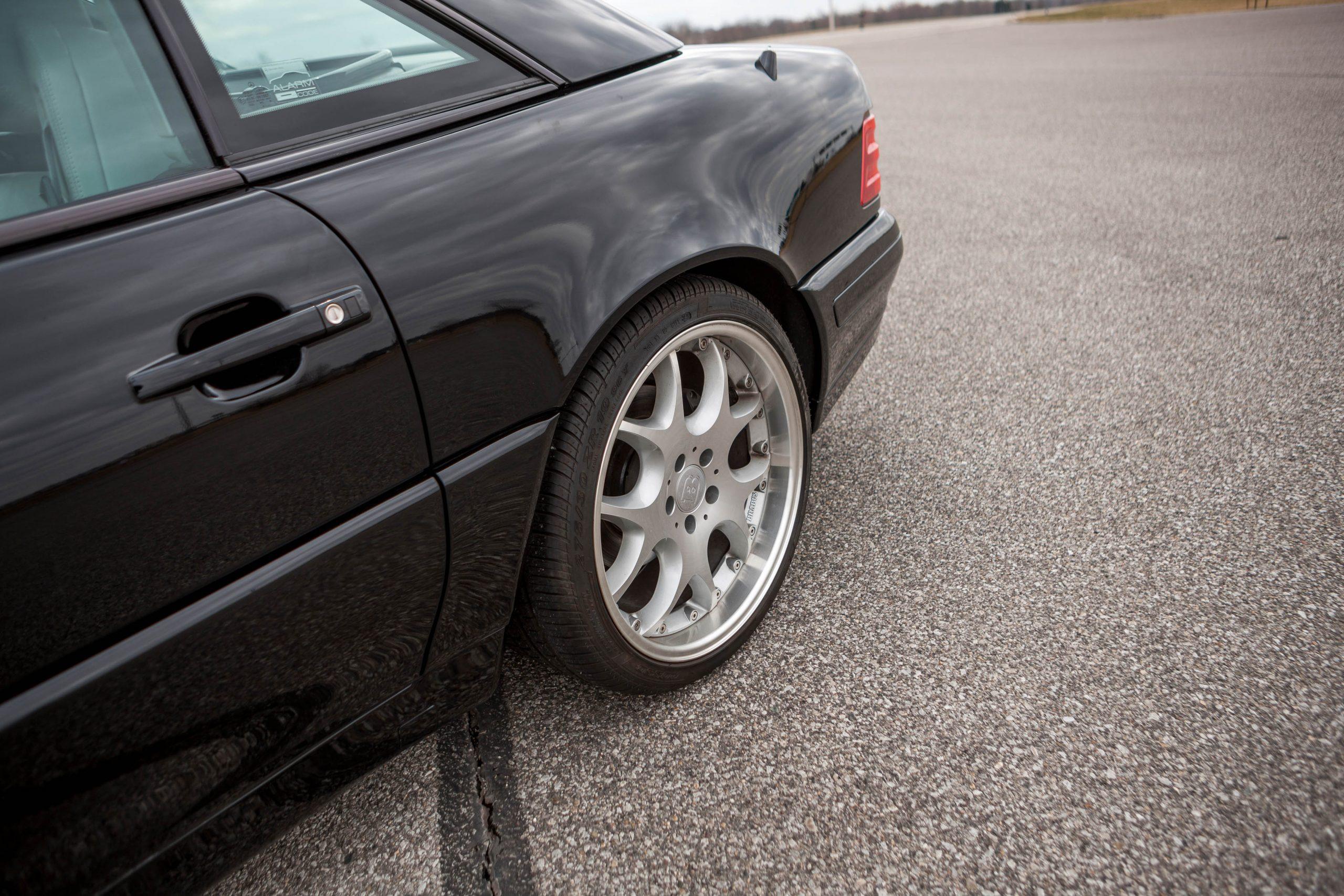 1999 Mercedes-Benz Brabus 7.3 S rear wheel