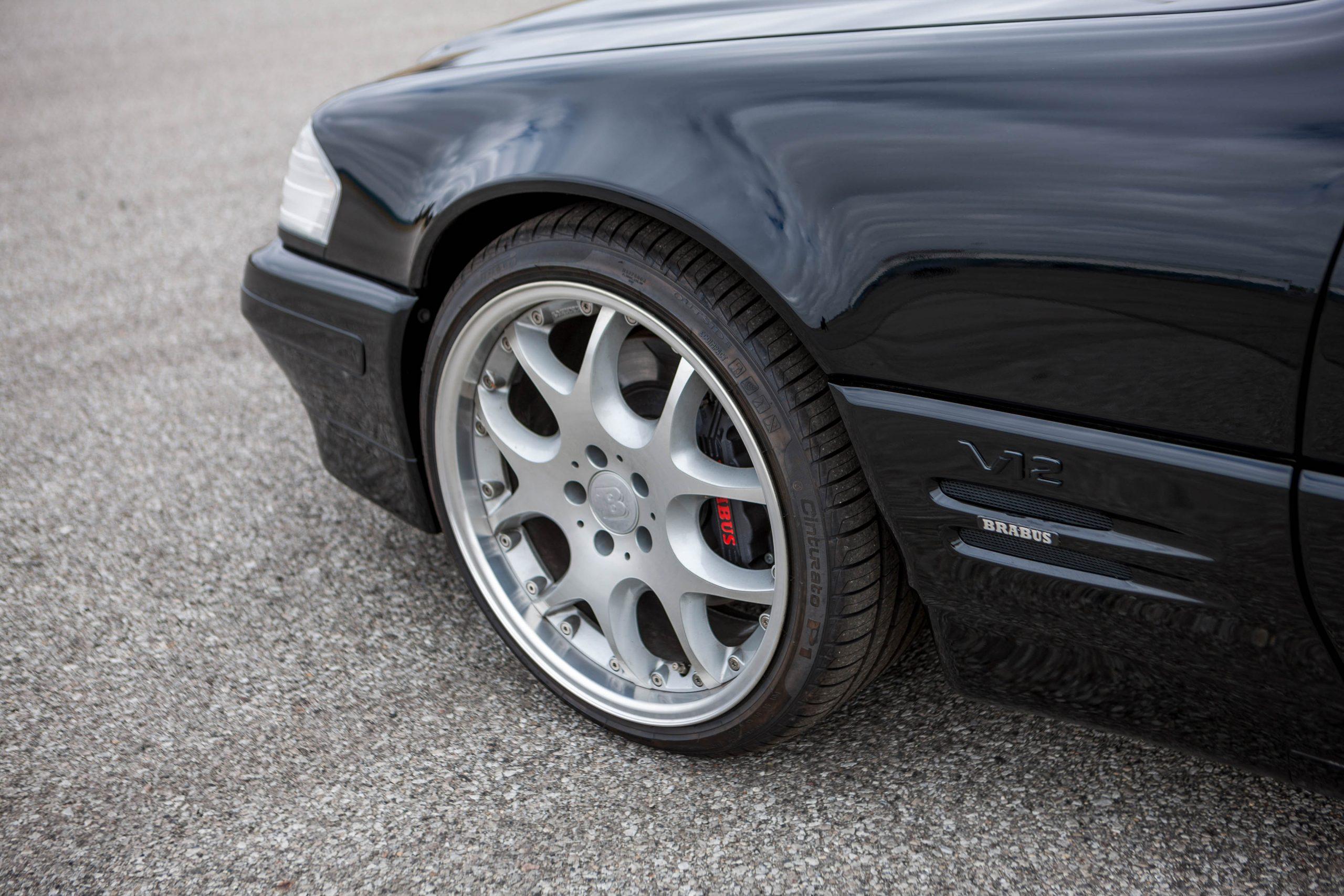 1999 Mercedes-Benz Brabus 7.3 S front wheel