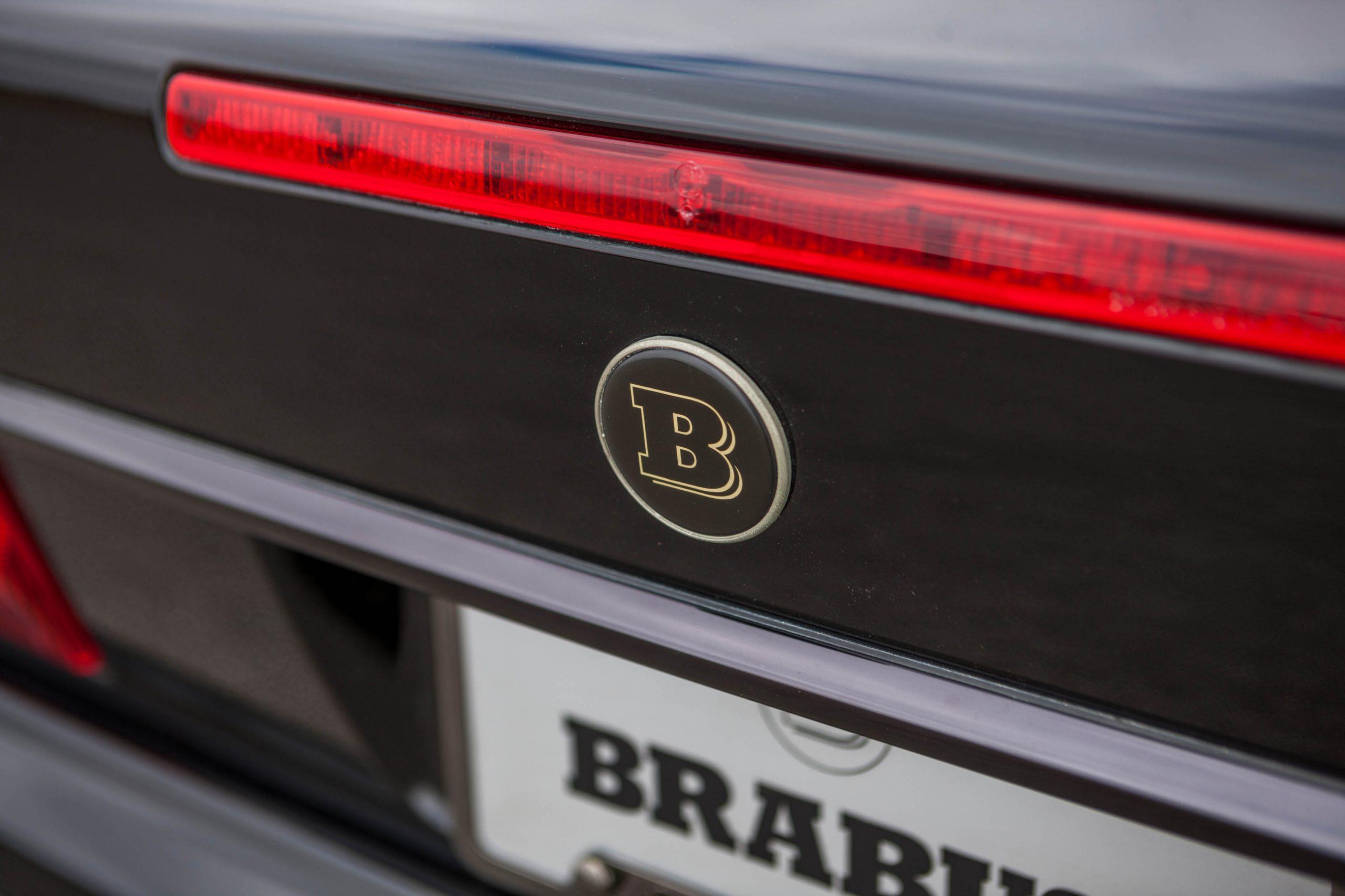 1999 Mercedes-Benz Brabus 7.3 S rear badge