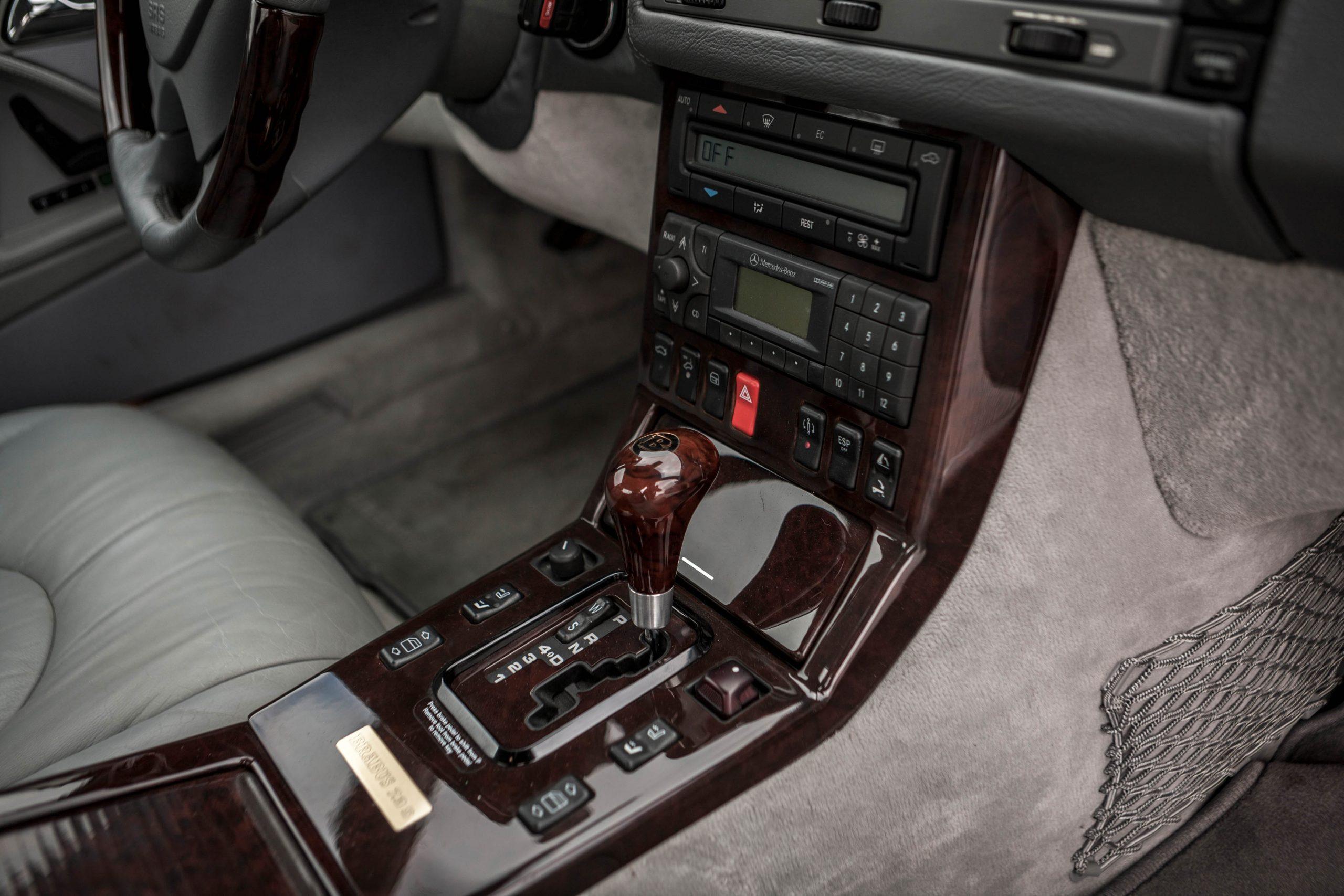 1999 Mercedes-Benz Brabus 7.3 S interior console