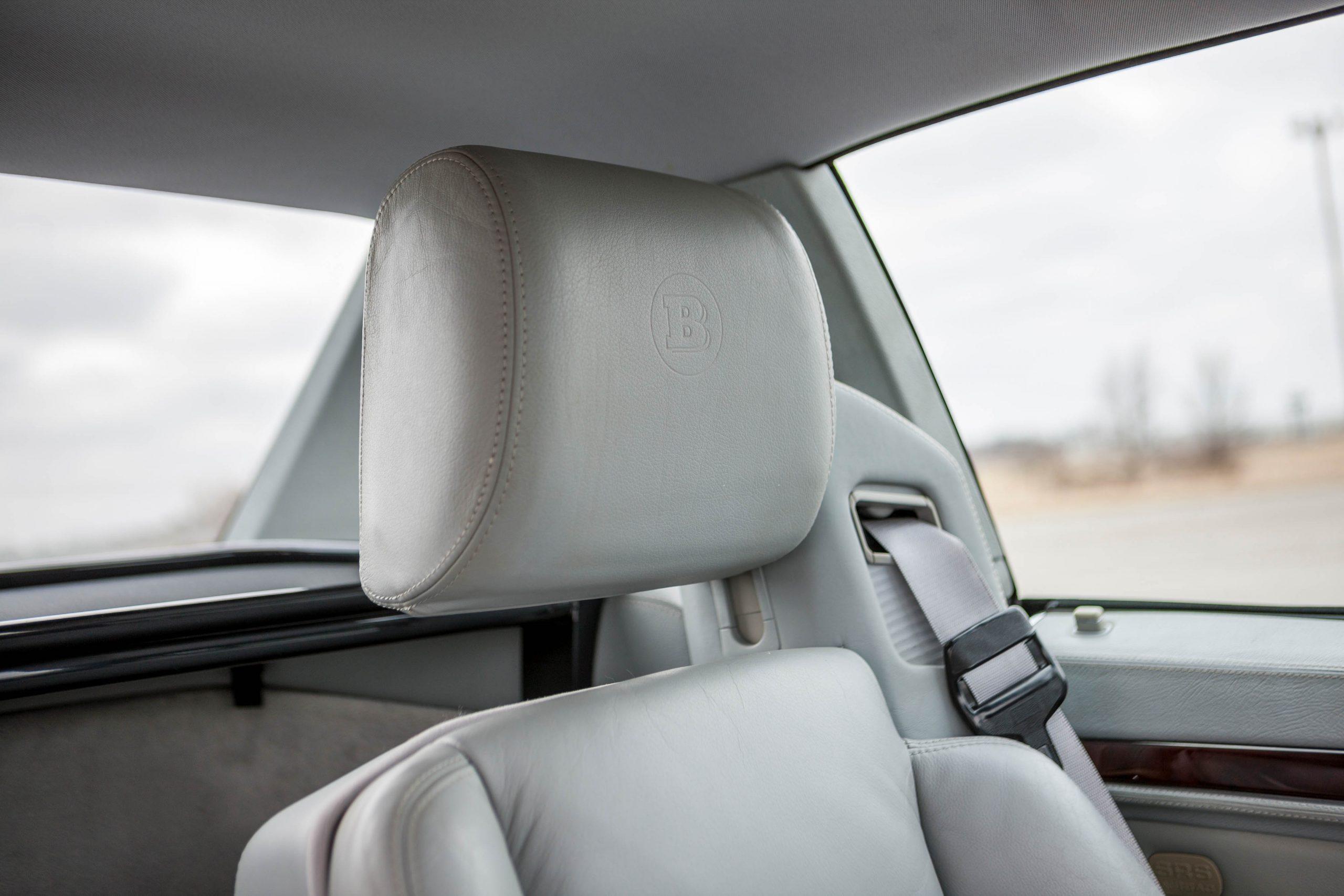 1999 Mercedes-Benz Brabus 7.3 S headrest