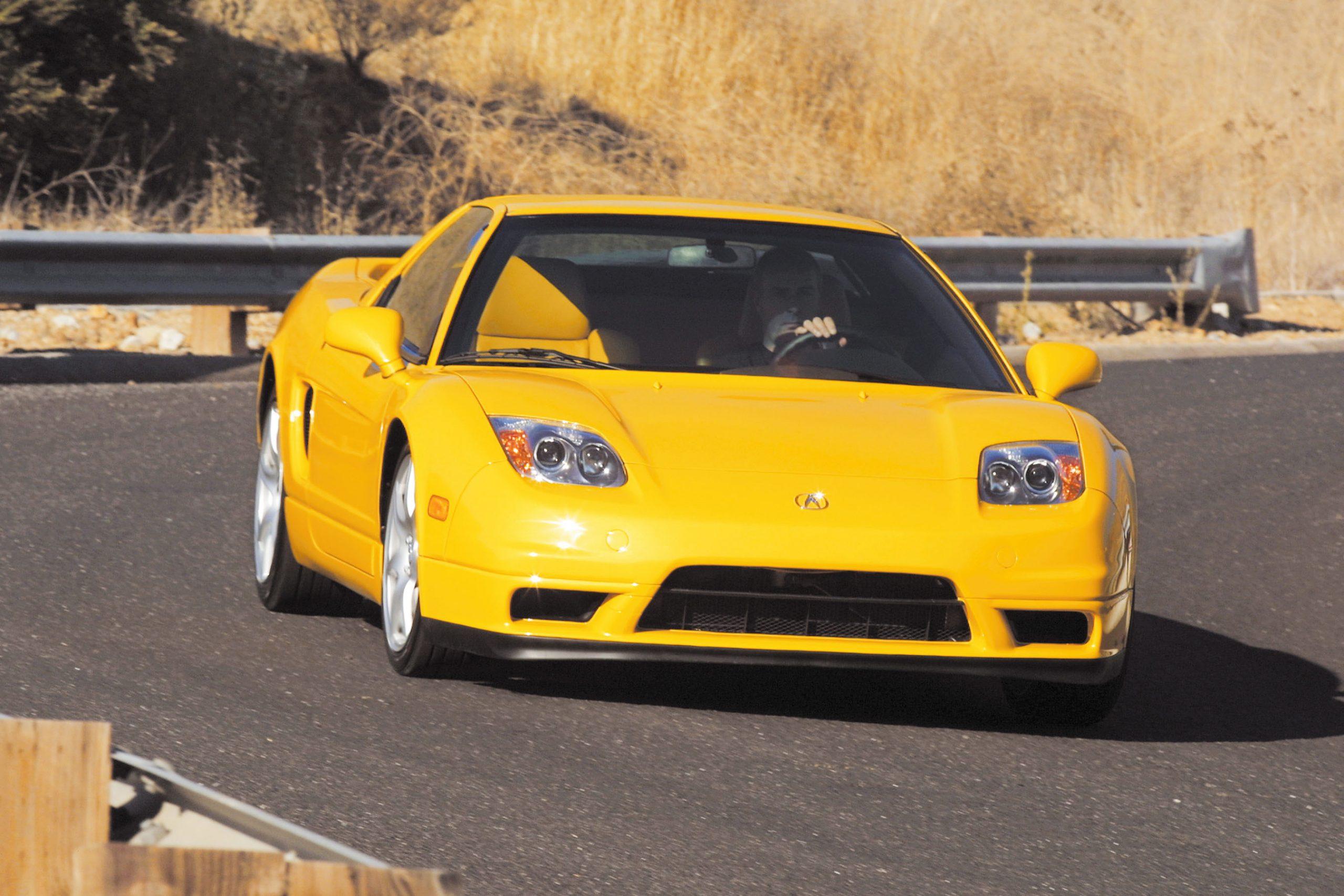 2002 Acura NSX front three-quarter