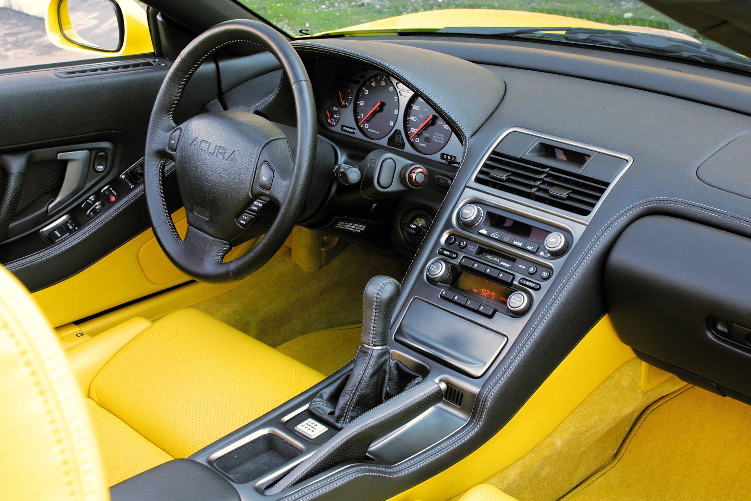 2002 Acura NSX interior