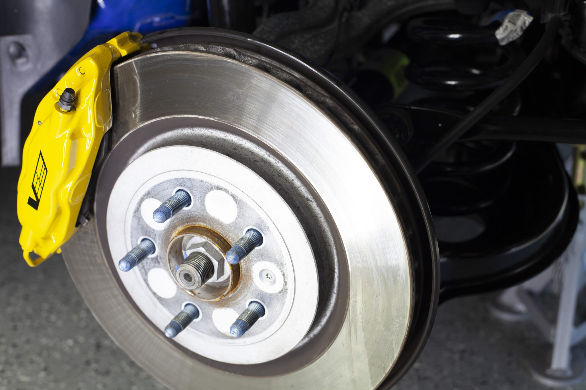 2012 Cadillac CTS-V Wagon brake and caliper
