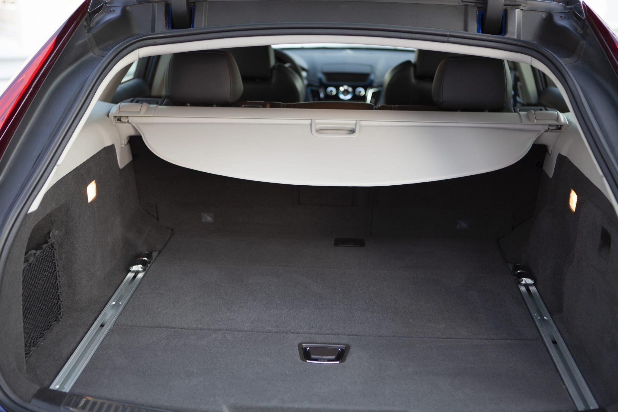 2012 Cadillac CTS-V Wagon rear cargo