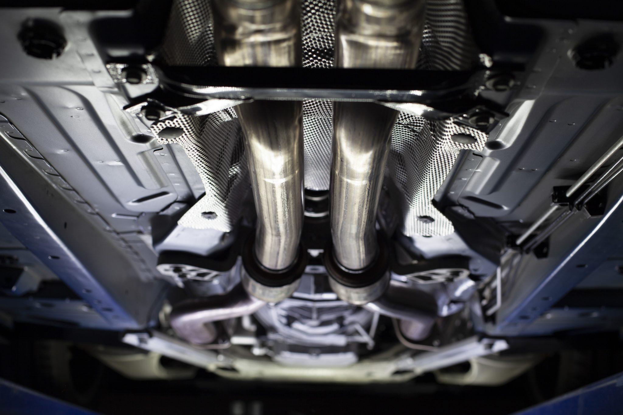 2012 Cadillac CTS-V Wagon underside