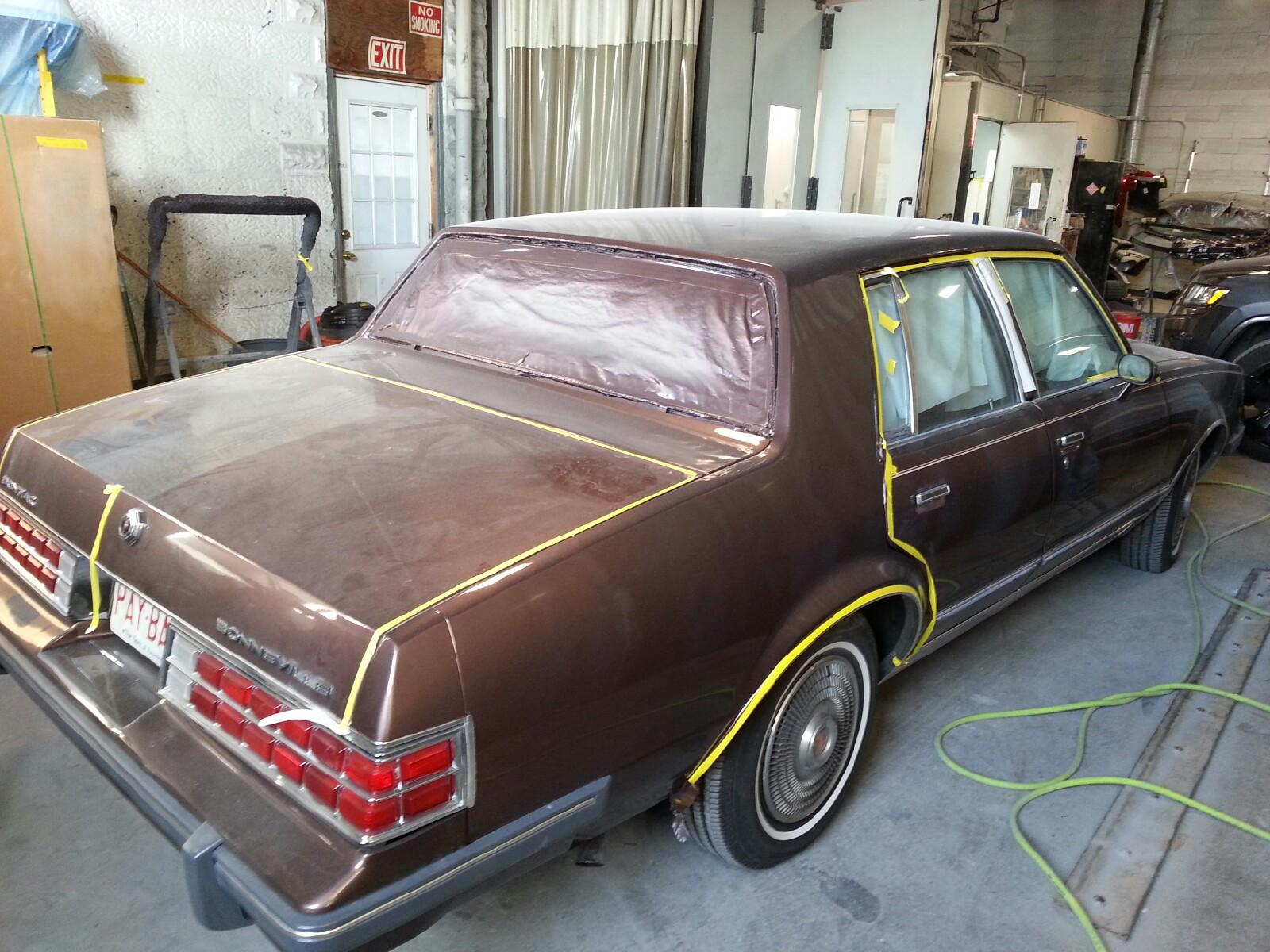 1984 Pontiac Bonneville restoration