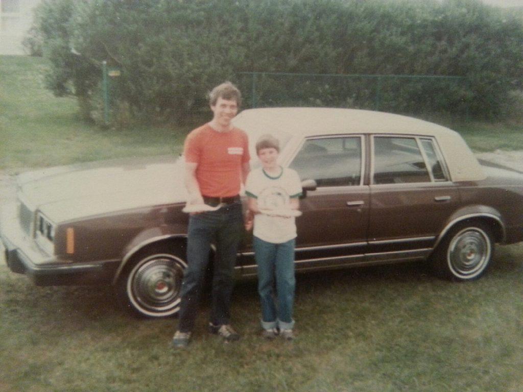 1984 Pontiac Bonneville vintage photo car