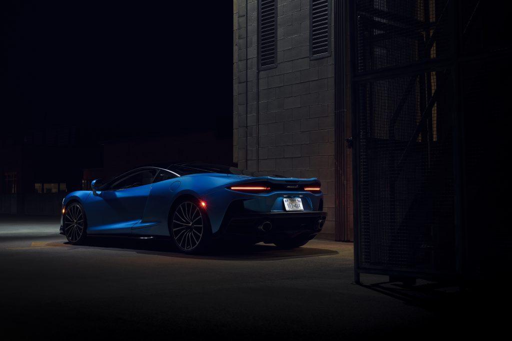 2020-McLaren-GT_Trahan_1496 rear three quarter