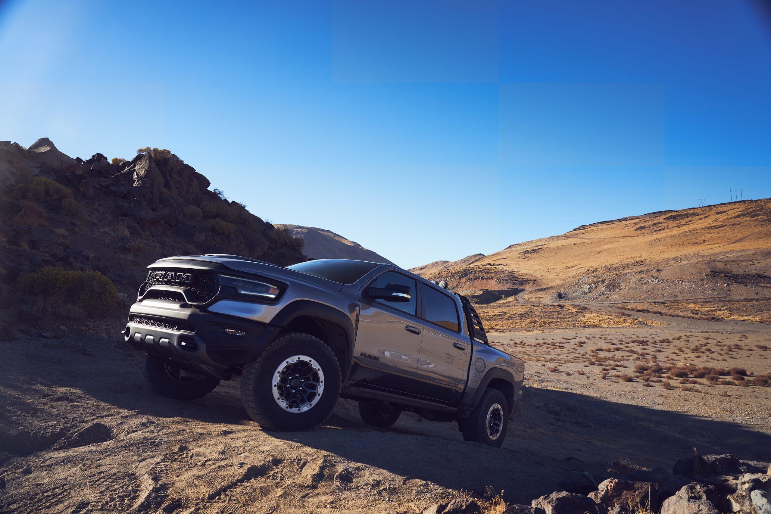 2021 Ram 1500 TRX front three-quarter