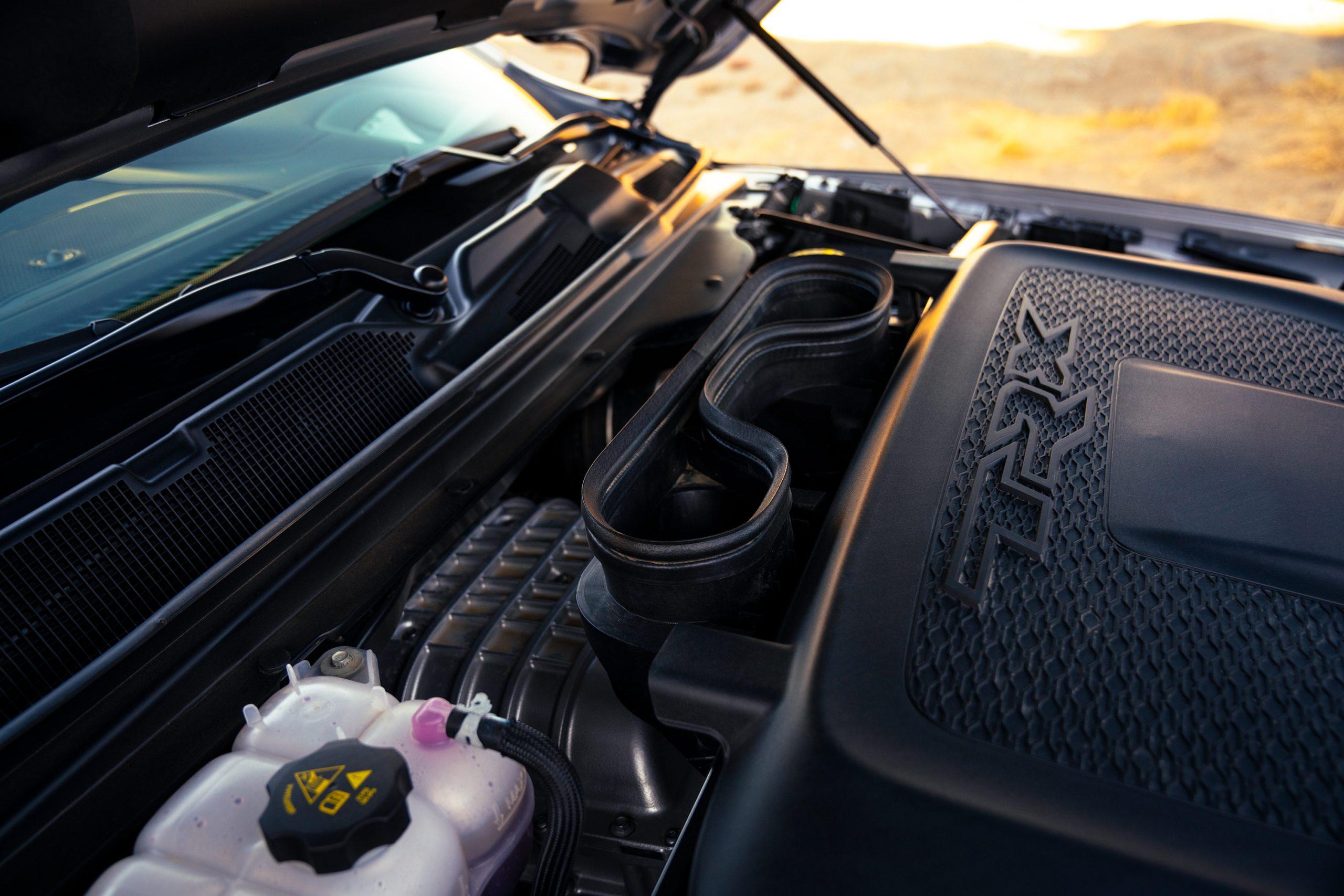 2021 Ram 1500 TRX engine cover