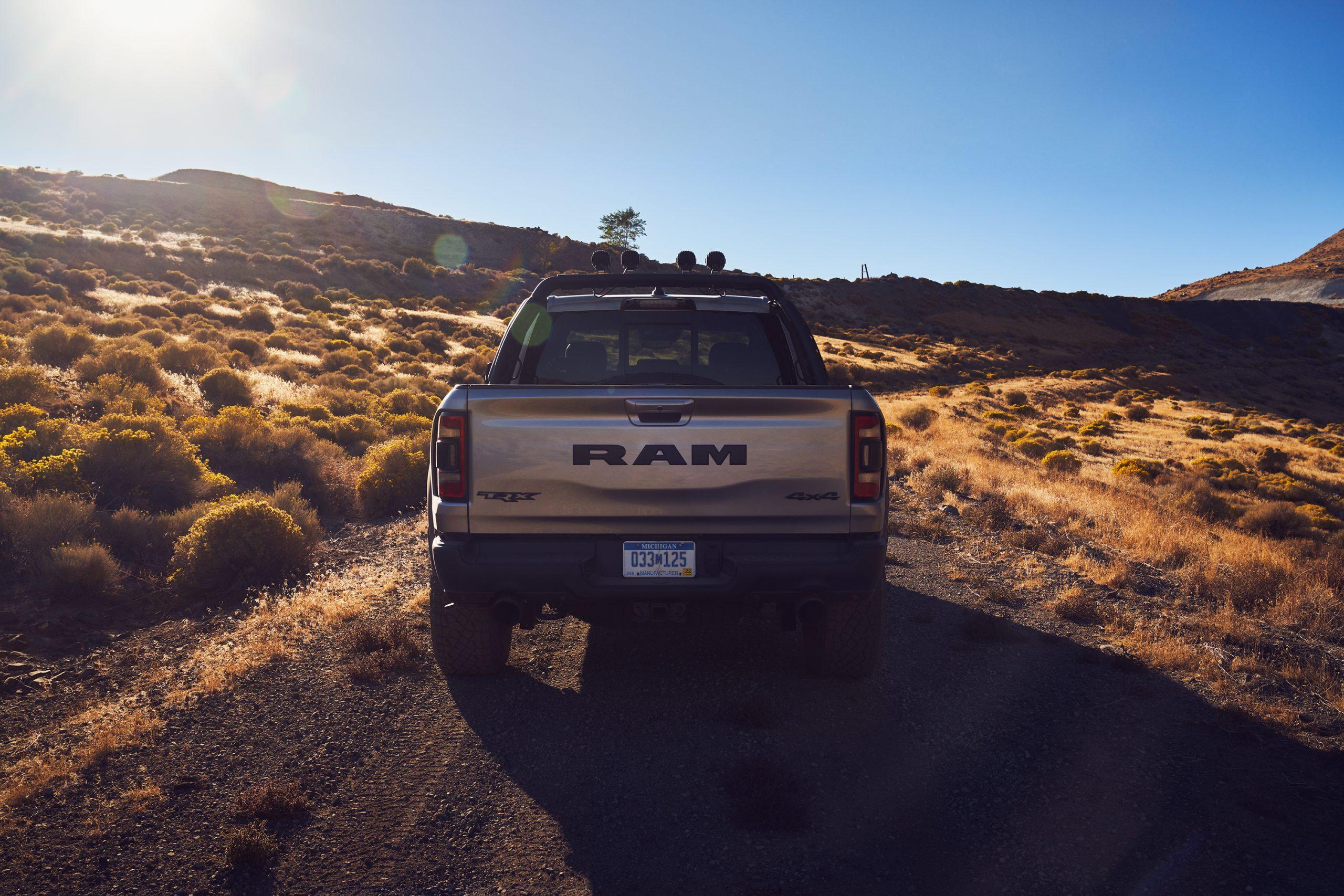 2021 Ram 1500 TRX rear
