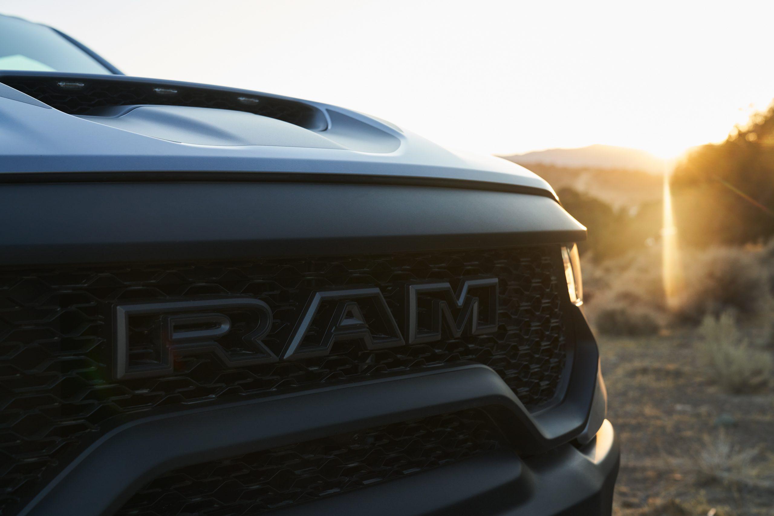 2021 Ram 1500 TRX grille detail